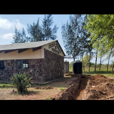 SAM oferece sistema de abastecimento de água potável à Escola Primária de Germantine